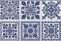 Charts: Tiles & Motifs / by croknit86