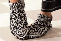 Knitting: Slippers & Boots / Anklets, Boots, Cozies, Footsies, Loafers, Mocasins, Slippers... / by croknit86