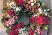 RustiChristmas / Burlap, twine, Kraft, rust, rustic, sisal, jute, cardboard, metal, tin, woid, log, twig Christmas Xmas / by § SIRENA §