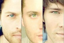 Supernatural / Two attractive, hunting evil, AWSOME idjit bros! Plus their fantastic friends! / by ruth ramirez