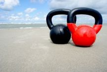 Exercise / Crossfit, yoga and kettlebells exercises. Also some articles on the benefits of. / by Elizabeth Duke