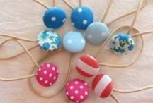 DIY hair ties/decorations / by Amy Ginis