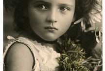 Adopted family tree / Mostly young ladies--from long ago, whose face and fashion provide a starting point for a story. / by Madam MotorHead