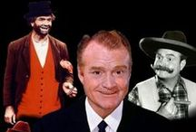 """Red Skelton ~""""May God Bless"""" / He was one of the greatest comedians ever. His many characters kept everyone laughing...Freddy The Freeloader...Gertrude and Heathcliff...Mr. McPugg...and many more...Red was also a painter of Clowns  and writer of music.Through his marriage to the end of his life he wrote letters to his beloved wife every day for all the years of their lives together. In his own parting words each week ....   """"May God Bless."""" / by Gayle T"""