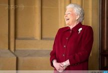HM The Queen / A shining example of duty, service and integrity. And a damn fine looking woman to boot! / by Jacquelyn MM