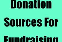 "Donations / Business donation request links, how to get more donations to your non-profit charity auction, tips on how to do ""the ask"", plus sample donation request letters you can use to help raise more funds. / by Fundraiser Help"