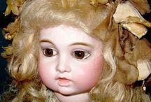 Antique doll's. Frenche / Etienne Denamur,Bru,Steiner Bebe's / by Jolanda B