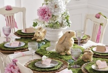 Easter/Spring Tablescapes / by Michelle Sousa
