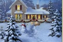 Home for the Holidays / There's no place like home for the holidays..... / by Michelle Sousa