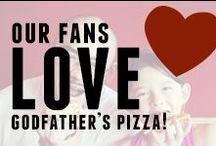 Our Fans Love Godfather's Pizza! / Pictures our fans have uploaded to Twitter and Instagram that show just how much they love Godfather's Pizza!  / by Godfather's Pizza