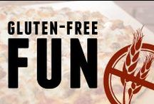 Gluten-Free Fun / Godfather's Pizza's Gluten-Free Pizzas, information and blogs on being Gluten-Free, and some of our favorite Gluten-Free recipes that we found! / by Godfather's Pizza