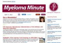 Myeloma ENews / by Myeloma Teacher