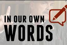 In Our Own Words / A collection of Blogs from Godfather's Pizza / by Godfather's Pizza
