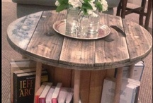 A new use, furniture repair and home ideas / by Cathy Rogers
