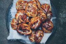 Sweet Rolls  / Yeast enriched doughy rolls / by bakinginpyjamas.com