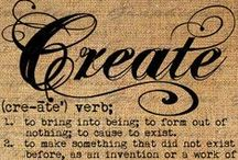 create / by GLORIA ARACELI