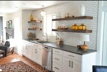 inspiration: kitchen / i need to renovate my 1948 bungalow. i'd like to restore that retro feel to it.  / by stacy hames