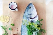 EAT || fish / raw. cooked. cured.  / by Sarah Copeland