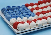Red, Hot & Blue / 4th of July, Memorial Day / by Susan Gallion