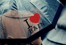 LOVE RAINY DAYS... / I LOVE LISTENING TO THE SOUND OF FALLING RAIN... / by Milli Nieves Garcia