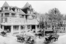 Cliff House History Pics / by The Cliff House at Pikes Peak