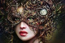 Art: Fantasy Art / by Katie Bee