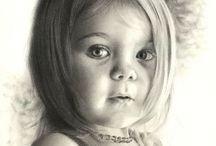 Art: Pencil Art / by Katie Bee