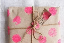 STATIONERY / WRAPPING / Stationery and wrapping ideas. / by Elena Colombet