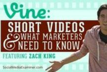[VINE] 4 Business / Tips, tricks and how to's are all contained in this board to help you understand what #vine is. You can use it to propel your business to greatness and get seen!   #Vine  / by @Myofficebooks - Making online FUN!