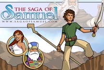 The Saga of Samuel / The Saga of Samuel is a serial adventure fantasy comic loosely based on the person of Samuel, hero, Judge and prophet of Ancient Israel. Read more at: www.sagaofsamuel.com / by ArtistXero