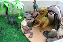 Dinosaur Theme / Dinosaur activities and crafts for kids. / by Dyan (And Next Comes L)