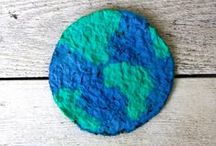 Earth Day / Activities and crafts for kids to celebrate Earth Day / by Dyan (And Next Comes L)