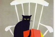 GRAPHIC CATS / ILLUSTRATION and ART MIAOU / by Elena Patrikova