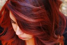 Hair Styles & Colors / by Cassie Waldron