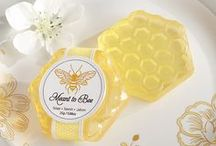Meant to BEE / Honey and Bee themed wedding and event inspiration / by Kate Aspen