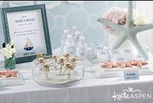 Nautical Baby Shower / Ahoy it's a boy! Nautical themed baby shower and birthday party inspiration / by Kate Aspen