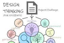 Design Thinking | UX | Innovation / Uma amostragem de diversos ângulos e perspectivas para solução de problemas, priorizando o trabalho colaborativo em equipes multidisciplinares em busca de soluções inovadoras. Um mapear da cultura, dos contextos, das experiências pessoais e dos processos na vida dos indivíduos com um novo olhar com as pessoas no centro do desenvolvimento dos projetos possíveis de serem transformados em realidade. / by Renata Naxara