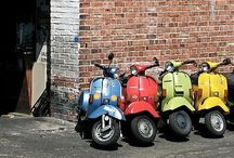 Vespa, Scooters Collections / by Herry Ashari