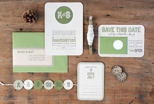 wedding invitations / by Melanie Barley