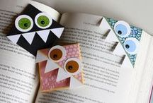 Bookmarks / Wonderful bookmarks in all shapes, sizes & perfect for anyone who reads! / by Kern County Library