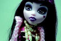 Monster High Doll Fashions / Check out our YouTube channel for tutorials, webshows and more... Monster High dolls, Barbies...