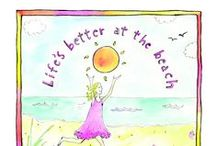 Beaches & Books / Sandy Gringas's books are perfect for anyone who loves sunshine and summertime! Check out her books Life's Better at the Beach and How to Live in Flip Flops. http://www.sourcebooks.com/store/lifes-better-at-the-beach.html / by Sourcebooks