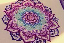 Mandala to color - mandala para colorear / Mandala to color - mandala para colorear / by Linda Moens