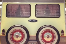 Vintage campers / by Cheryl Ovenshire