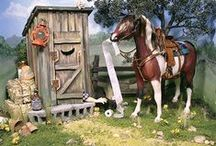 Breyer horses / by Ashton Kraft