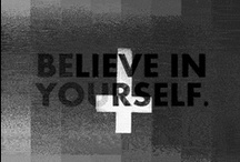 B e l i e v e I n Y o u r s e l f / ┼ Yes, I am Atheist! Which means that I believe in Unicorns ┼ / by BernarDeath Muor
