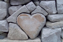Heart of Stone / Stone, gem hearts / by Dirk Gibson
