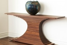Woodworking / Some of Nathan Reed's favorite woodworking pieces. / by R.T. Wolfe