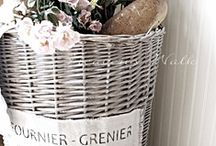 {baskets} / by Debra Griggs