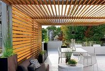 Design | Pergolas || Wood / by Elizabeth